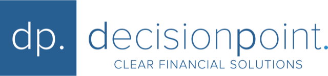Decision Point Financial的标志|清晰的财务解决方案