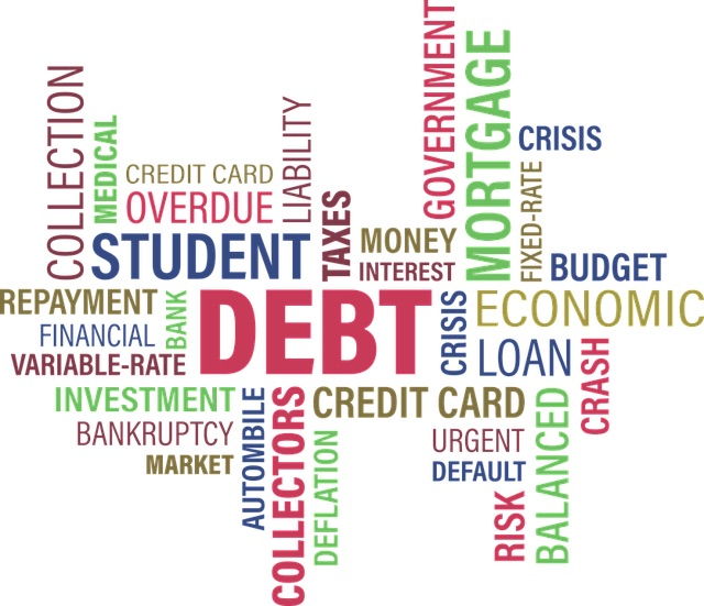 What are your thoughts about debt and how much do you have?