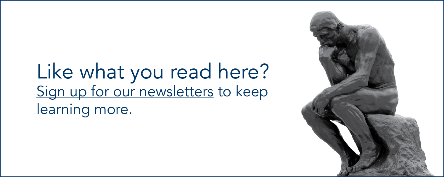 Like what you read here? Click to sign up for newsletters
