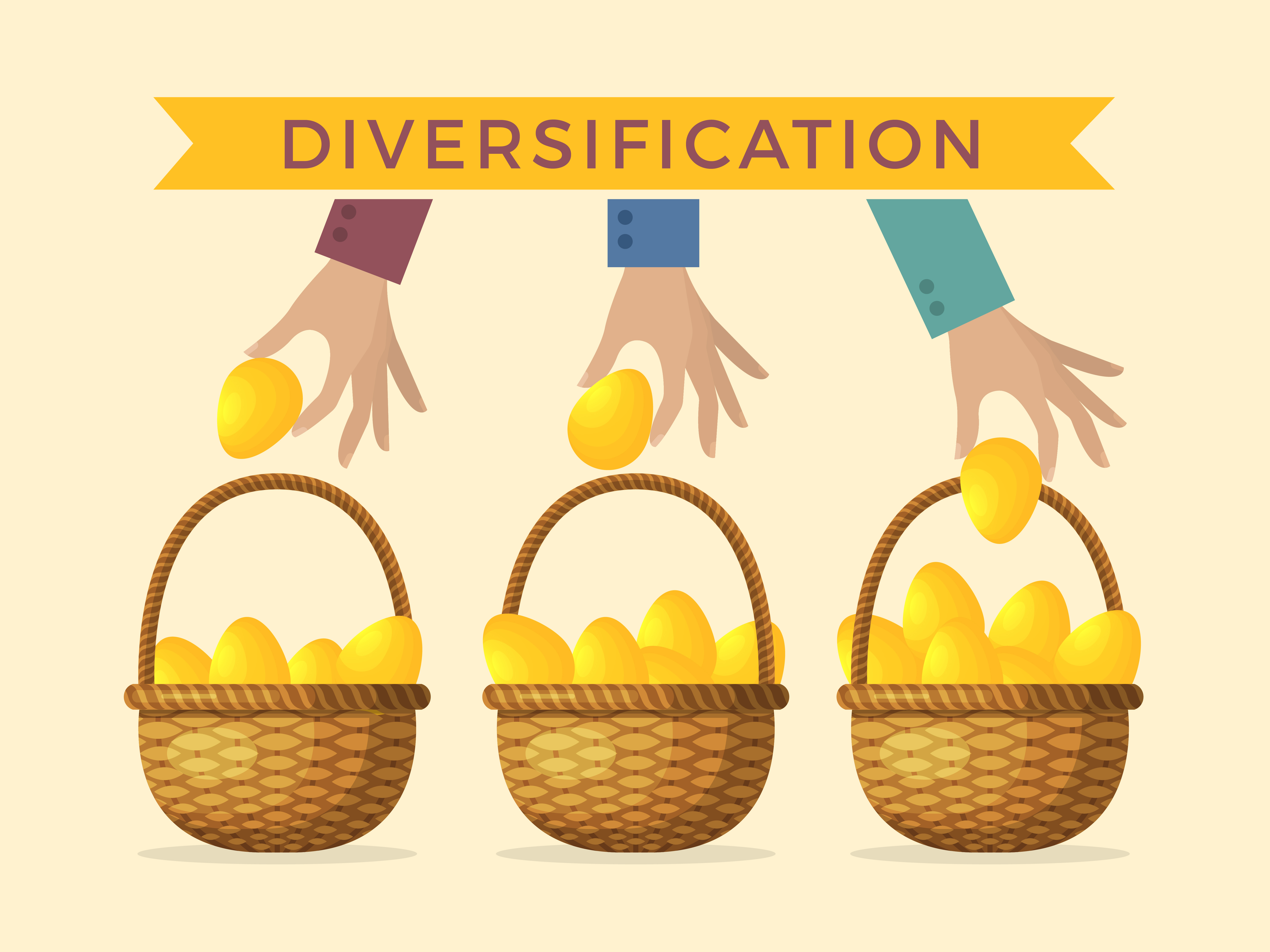Diversification: Don't put all your eggs in one basket