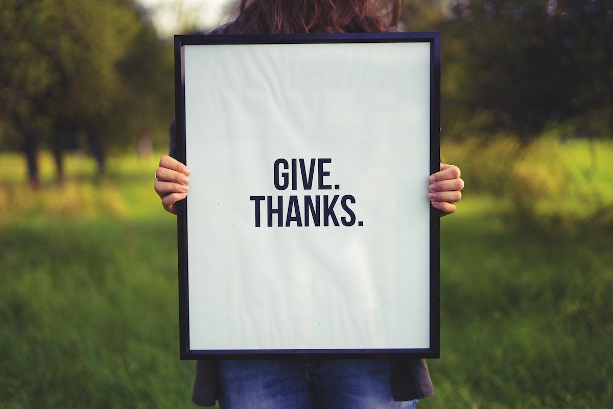 Does giving thanks make you wealthier? Thumbnail