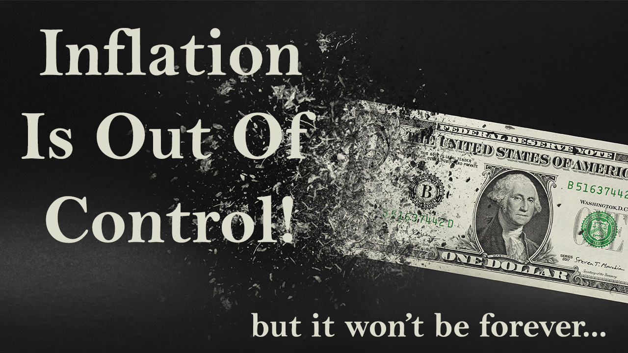Inflation is out of CONTROL! by Joe Wirbick, CFP® at Sequinox Thumbnail