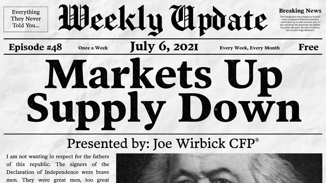 Markets Up and Supplies Down by Joe Wirbick, CFP® at Sequinox Thumbnail