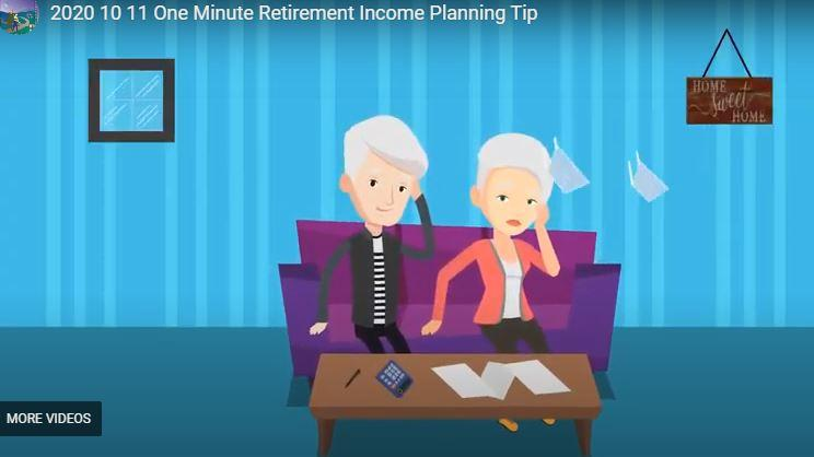 One Minute Retirement Planning Tip Thumbnail