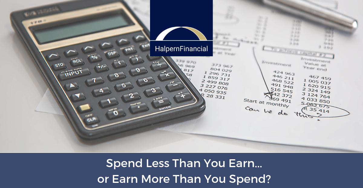 Spend Less Than You Earn...or Earn More Than You Spend? Thumbnail