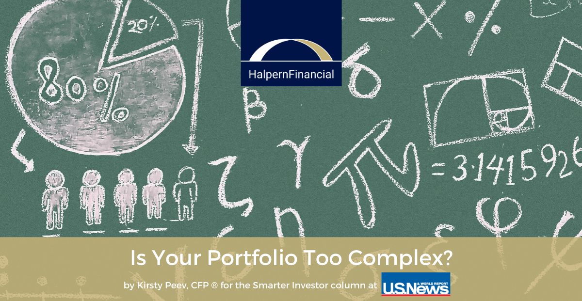 U.S. News & World Report: Is Your Portfolio Too Complex? Thumbnail