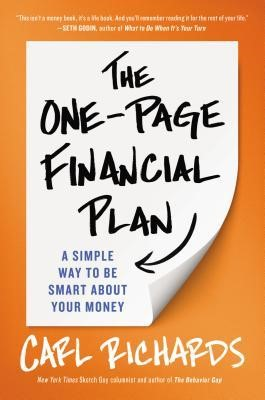 The One Page Financial Plan book cover