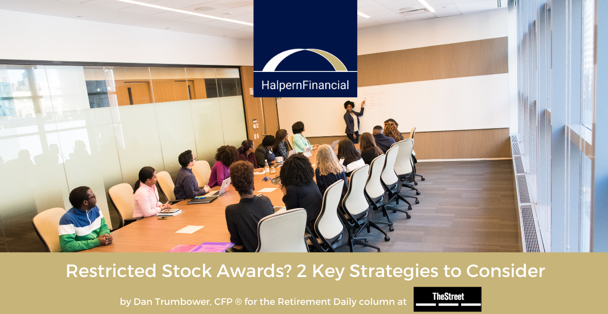 The Street: Restricted Stock Awards? 2 Key Strategies You Should Be Thinking About Thumbnail