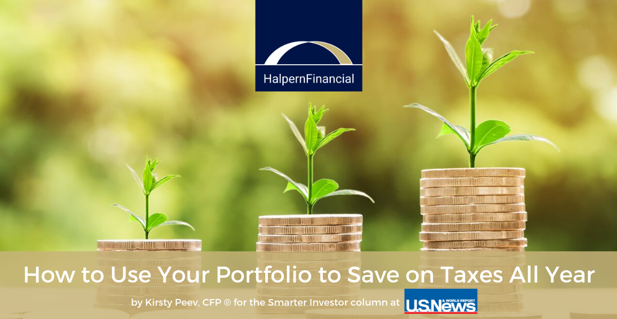 U.S. News & World Report: How to Use Your Portfolio to Save on Taxes All Year Thumbnail