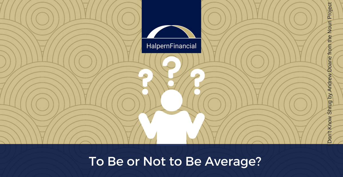 To Be or Not to Be Average? Thumbnail