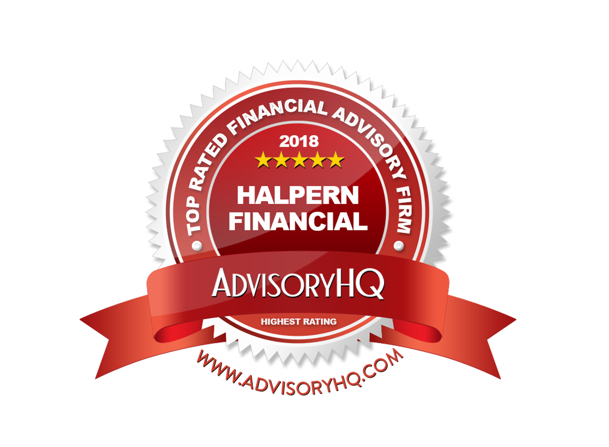 Halpern Financial Named a Top 10 Financial Advisor in D.C., Maryland and Virginia Region Thumbnail
