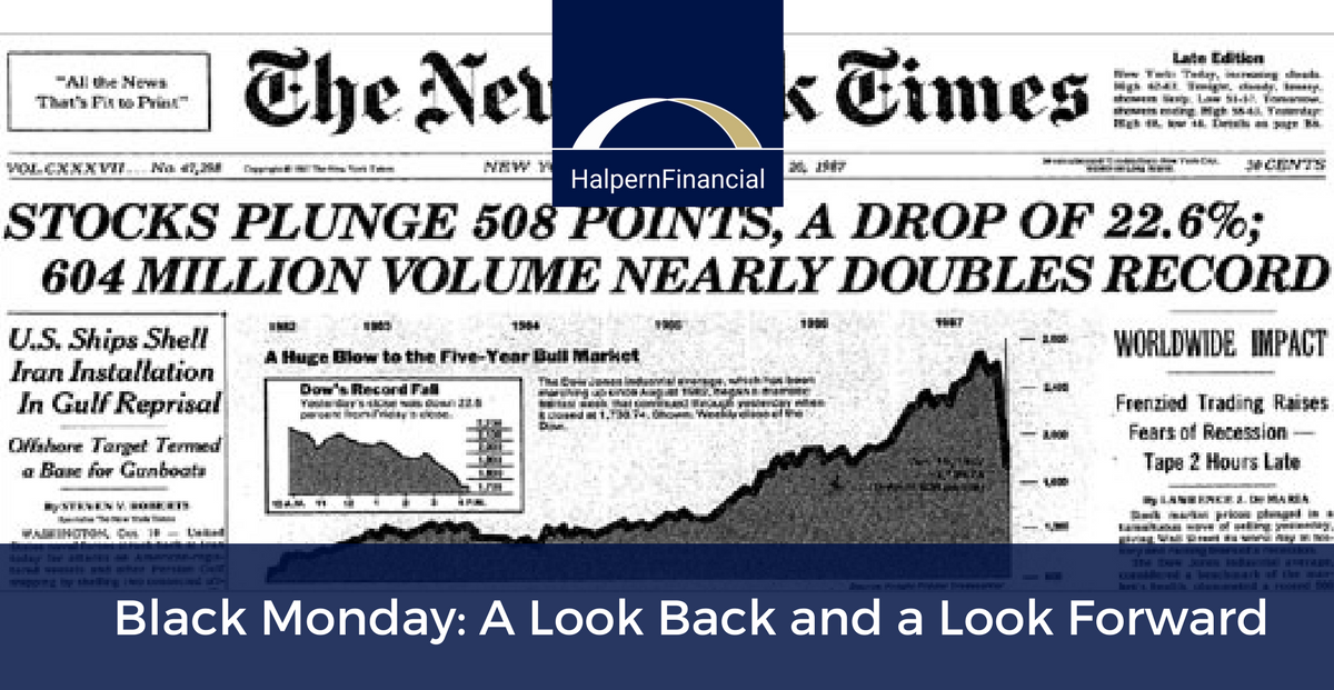 Black Monday: A Look Back and a Look Forward Thumbnail