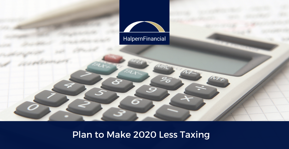 Plan to Make 2020 Less Taxing Thumbnail