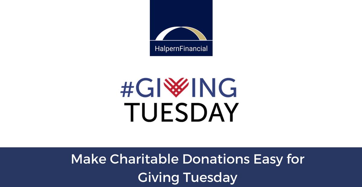 Make Charitable Donations Easy on #GivingTuesday  Thumbnail