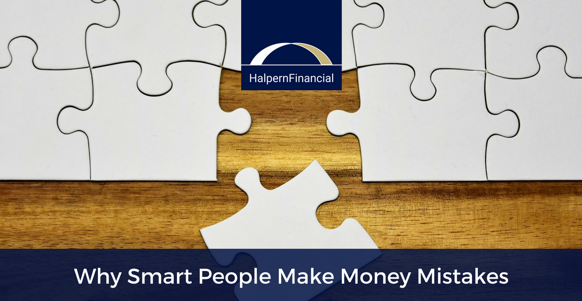 8 Reasons Why Smart People Make Money Mistakes Thumbnail