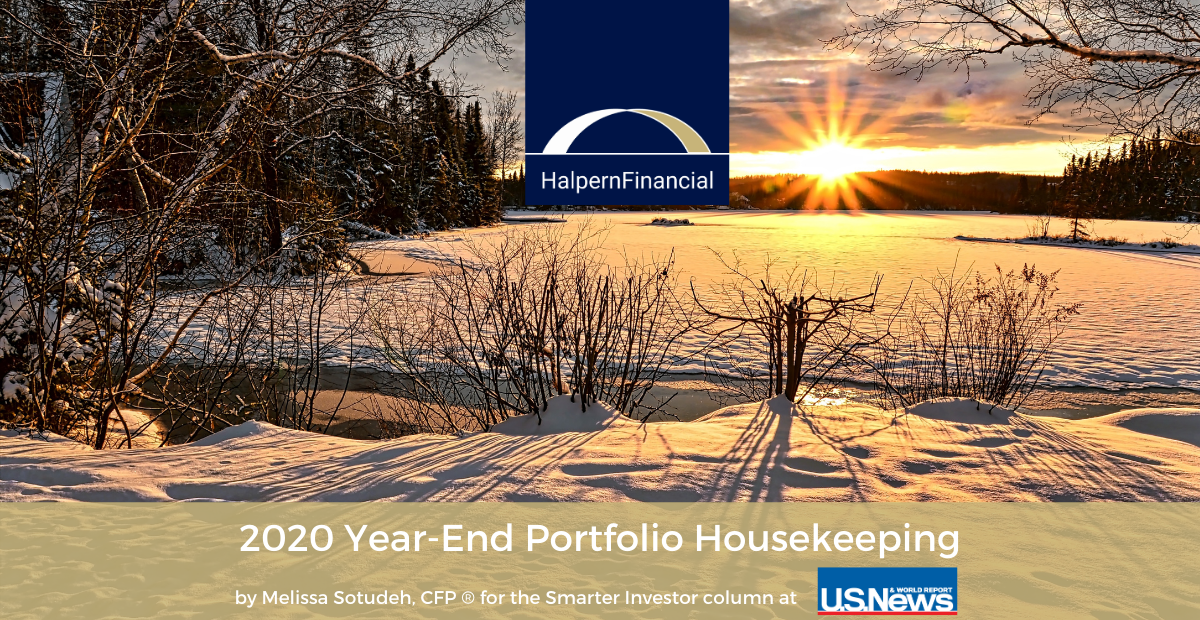 2020 Year-End Investment Portfolio Housekeeping Thumbnail