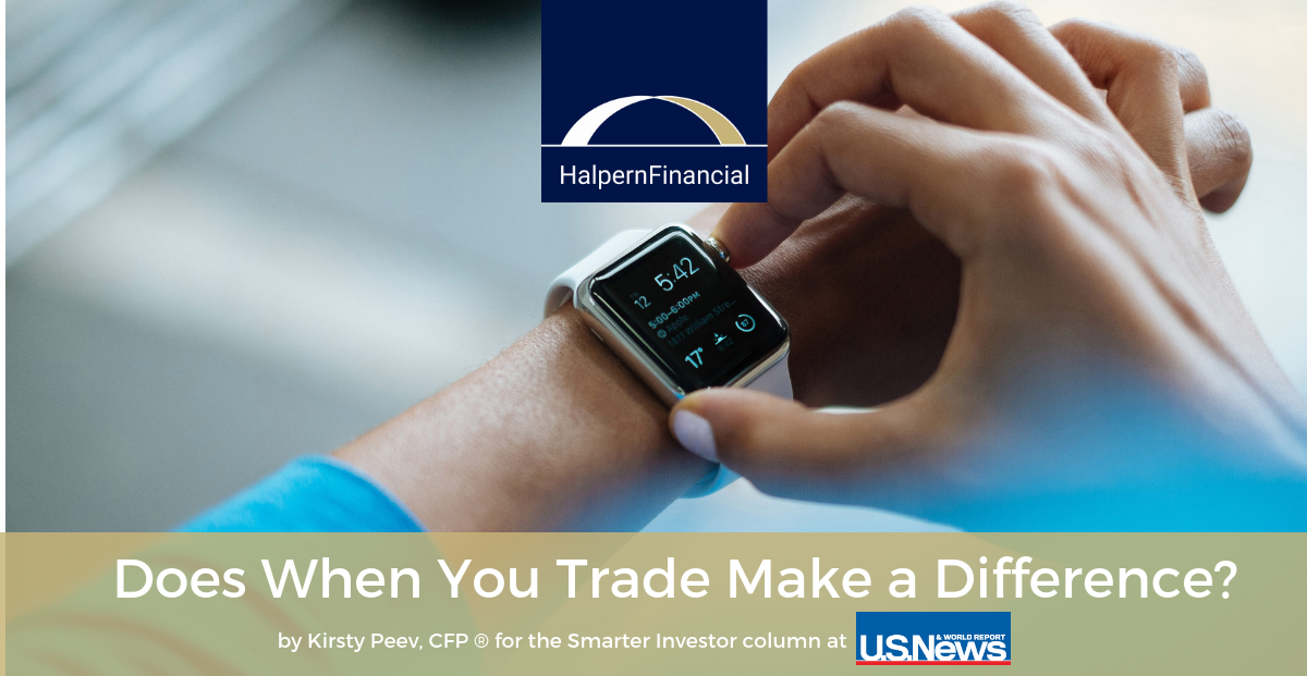U.S. News & World Report: Does When You Trade Make a Difference? Thumbnail