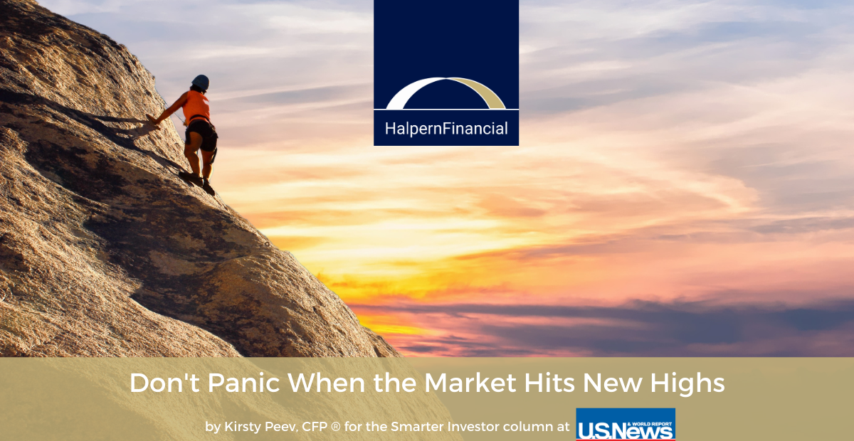 Don't Panic When the Market Hits New Highs Thumbnail