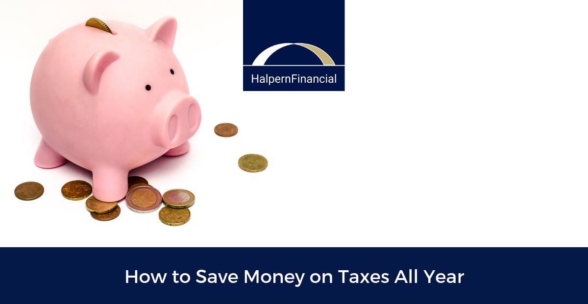 How to Save Money on Taxes All Year Thumbnail
