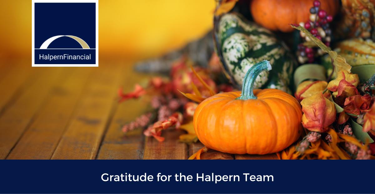 Gratitude For the Halpern Team Thumbnail