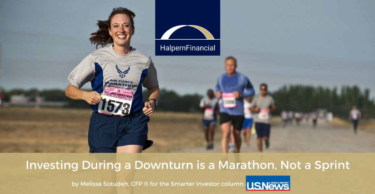 U.S. News & World Report: Investing During a Downturn is a Marathon, Not a Sprint Thumbnail