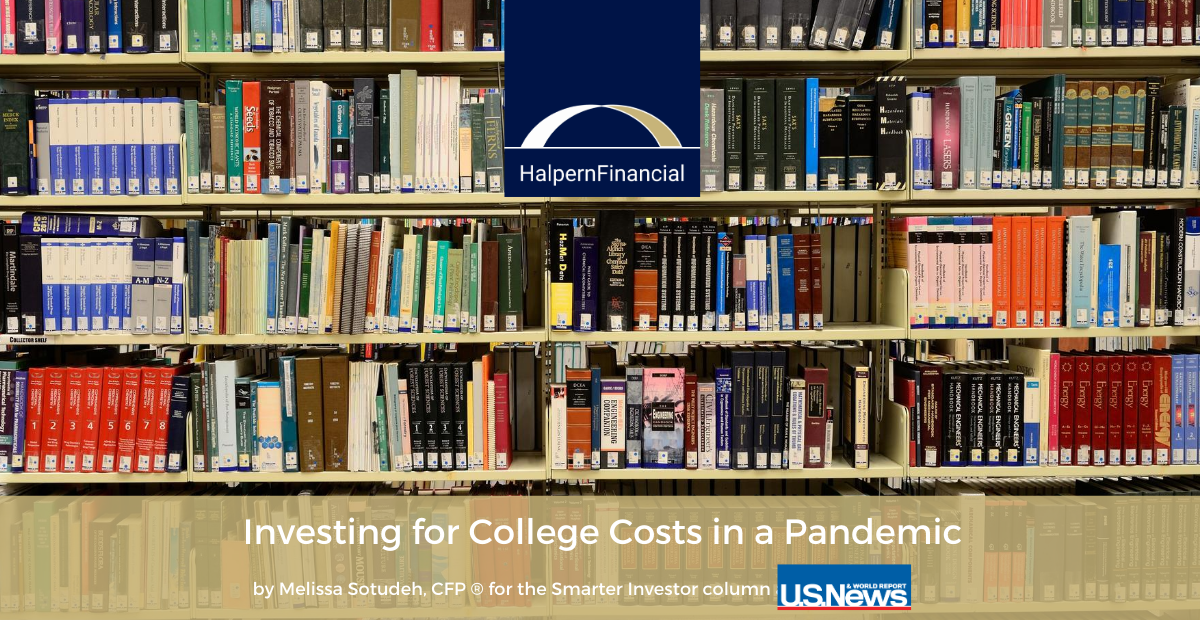 U.S. News & World Report: Investing for College Costs in a Pandemic Thumbnail