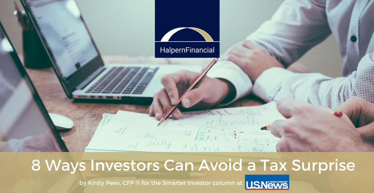 U.S. News & World Report: 8 Ways Investors Can Avoid a Tax Surprise Thumbnail