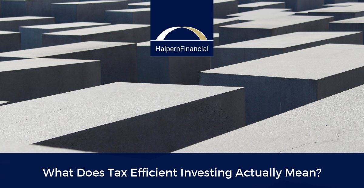 What Does Tax Efficient Investing Actually Mean? Thumbnail