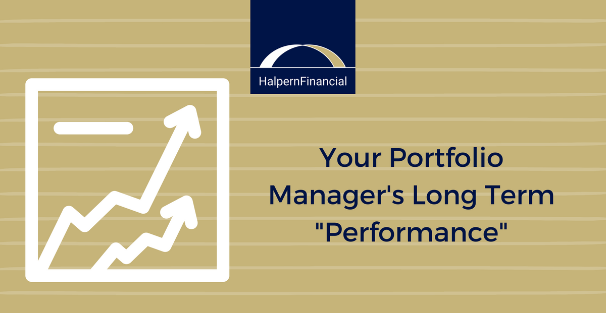 "Your Portfolio Manager's Long Term ""Performance"" Thumbnail"