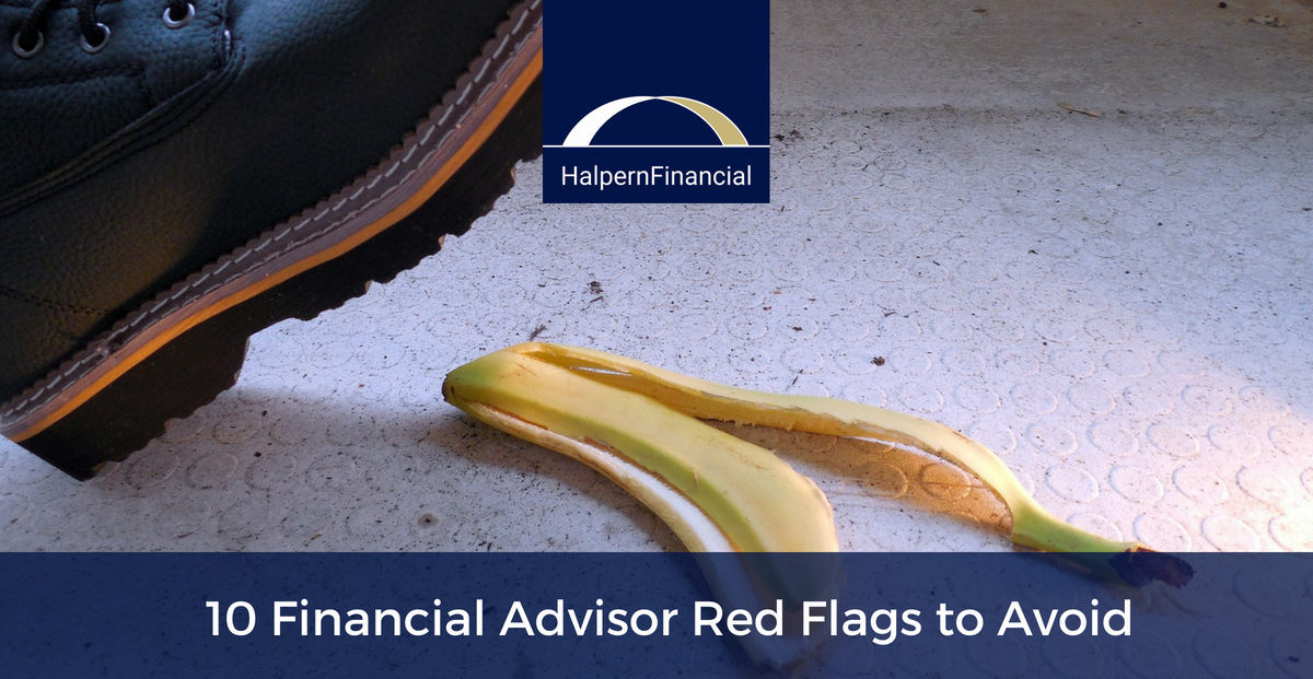10 Financial Advisor Red Flags to Avoid Thumbnail