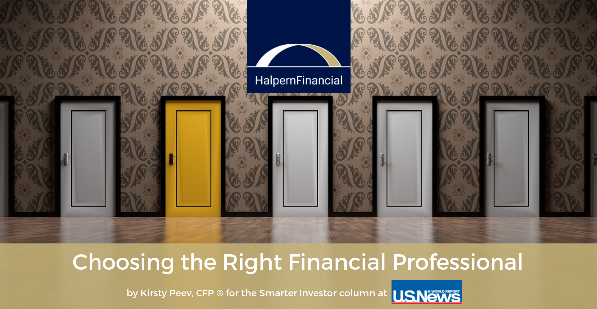 U.S. News & World Report: Choosing the Right Financial Professional Thumbnail
