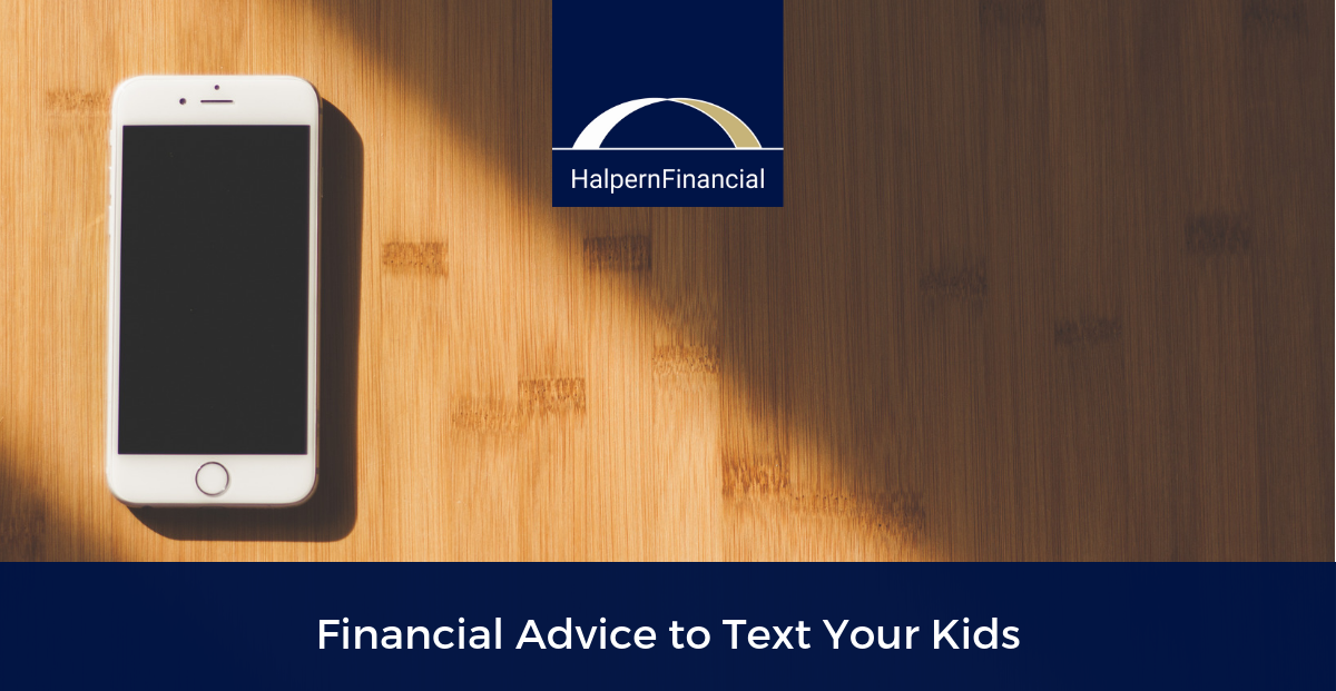 Financial Advice to Text Your Kids Thumbnail