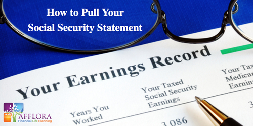How to Pull Your Social Security Statement