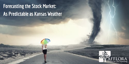Forecasting the Stock Market: As Predictable as Kansas Weather