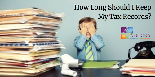 How Long Should I Keep My Tax Records Thumbnail