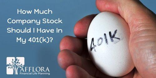 How Much Company Stock Should I Have In My 401(k)? Thumbnail