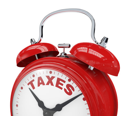 Tax Deadline Clock