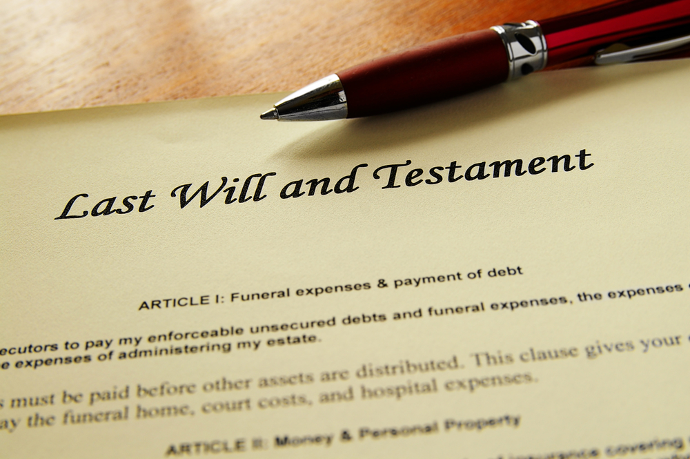 A Widow's Last Will and Testament