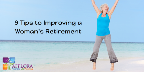 9 Tips to Improving a Woman's Retirement