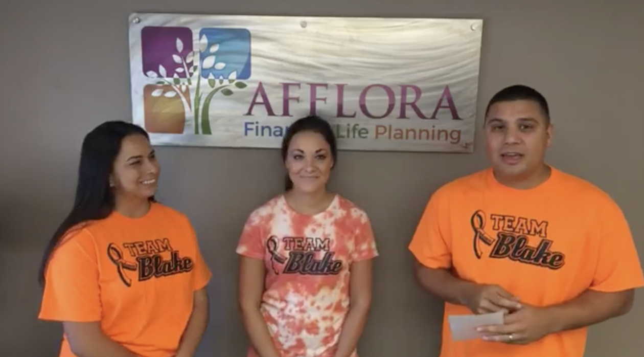 Afflora Financial Life Planning Announces $4,350 Matching Donation Challenge to Team Blake and LLS Thumbnail