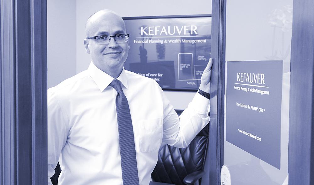 Russ Kefauver opening door