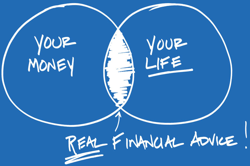 Give financial advice based on money and passions