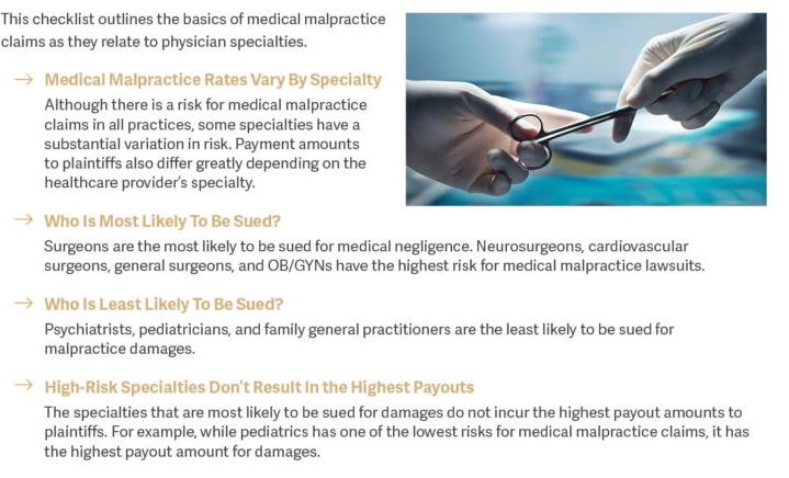 Medical Malpractice Checklist | WealthKeel