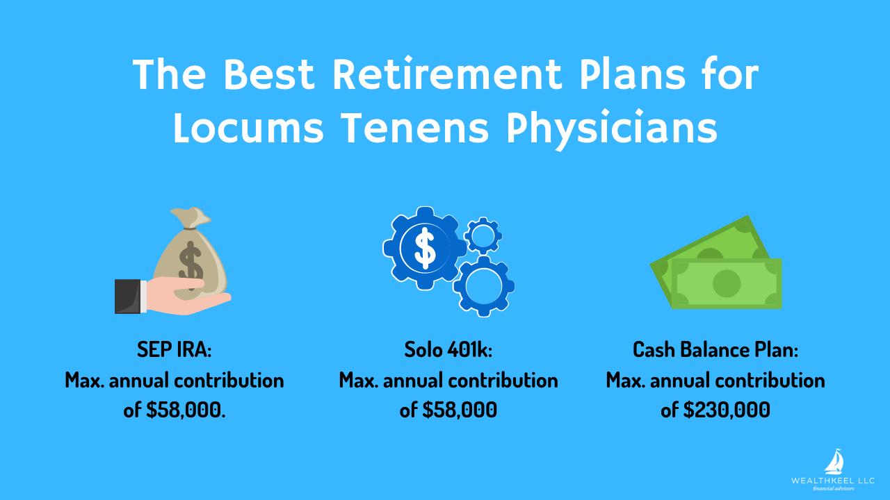 Best Retirement Plans for Locums Tenens Physicians | WealthKeel