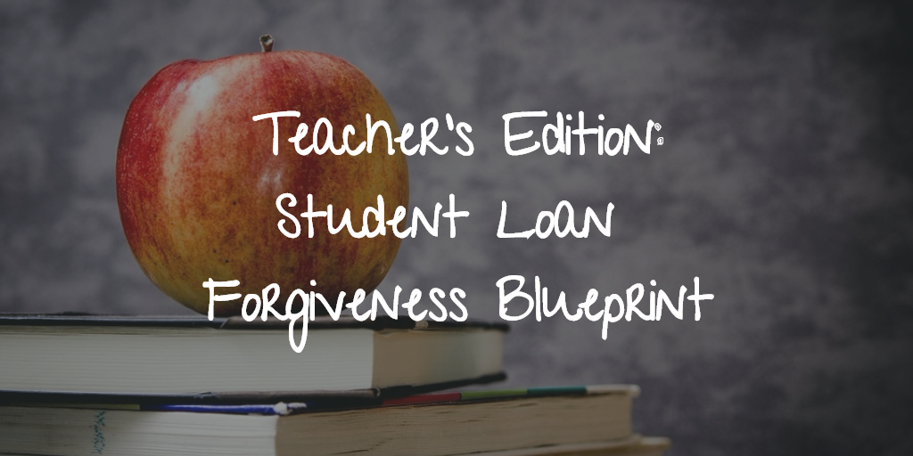 Student Loan Forgiveness for Teachers. Thumbnail