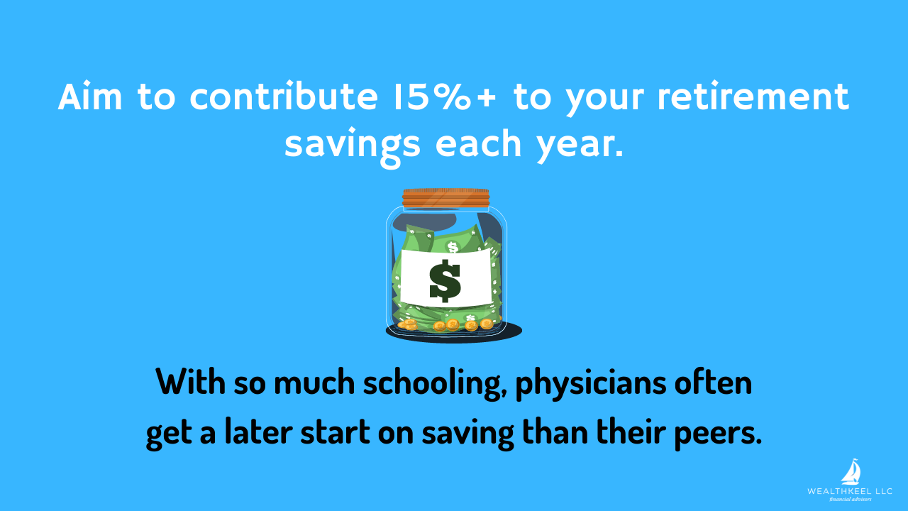 Aim to Contribute 15%+ to Your Retirement Savings Each Year | WealthKeel
