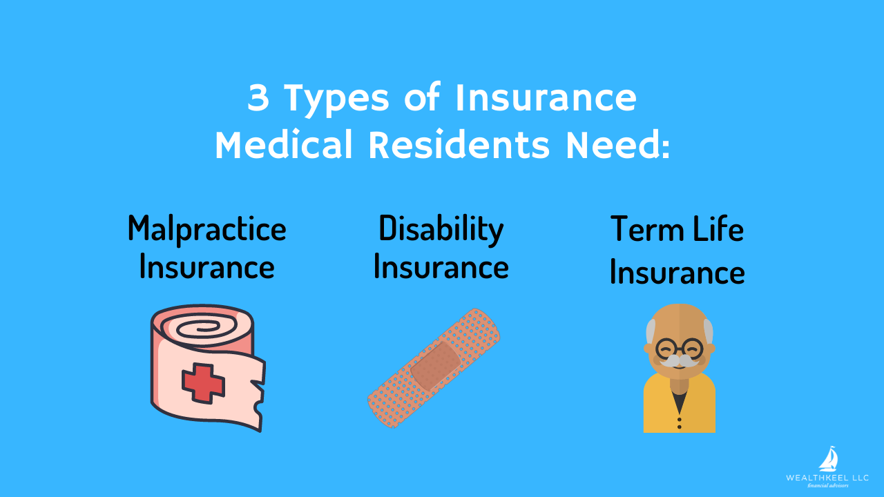 3 Types of Insurance for Medical Residents