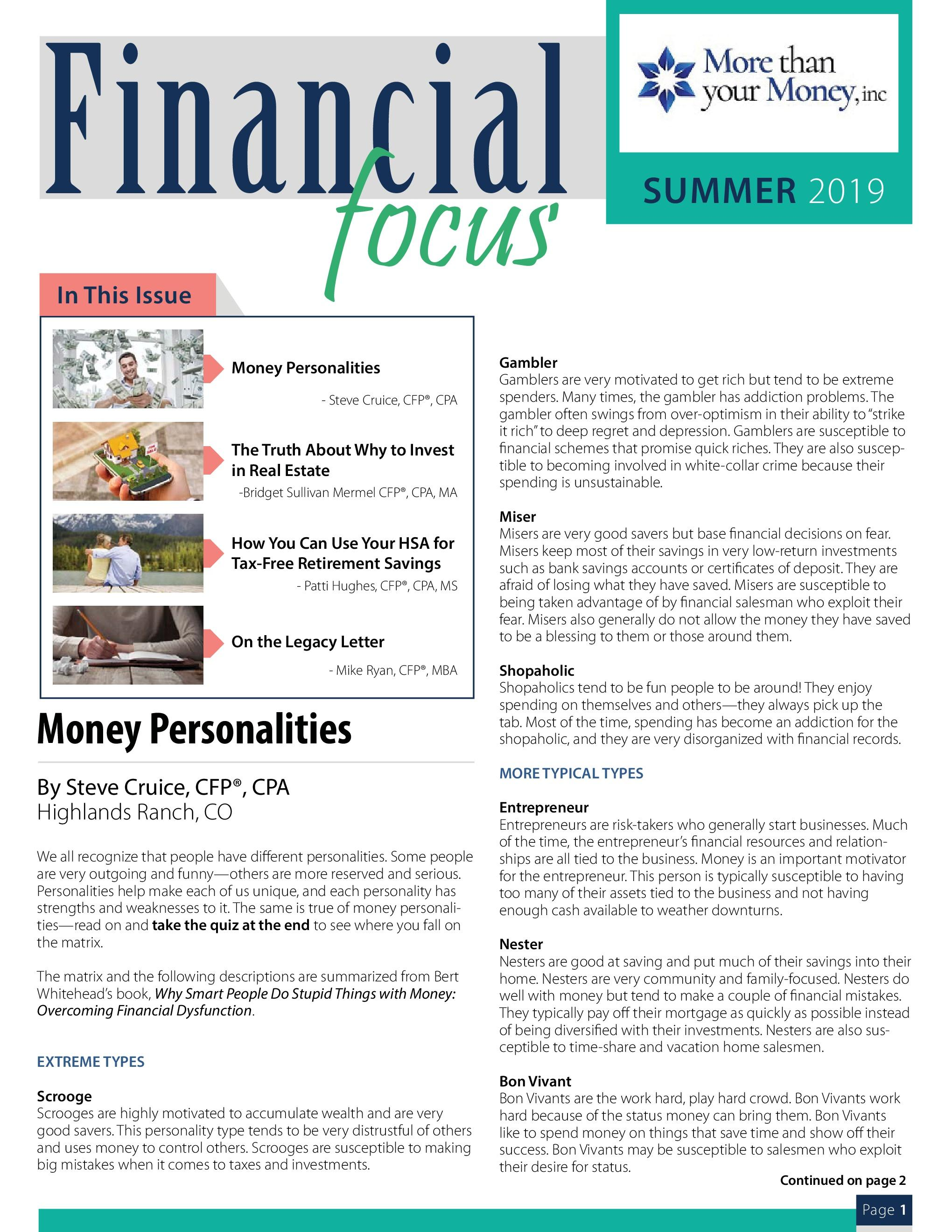 Financial Focus Summer 2019 Thumbnail