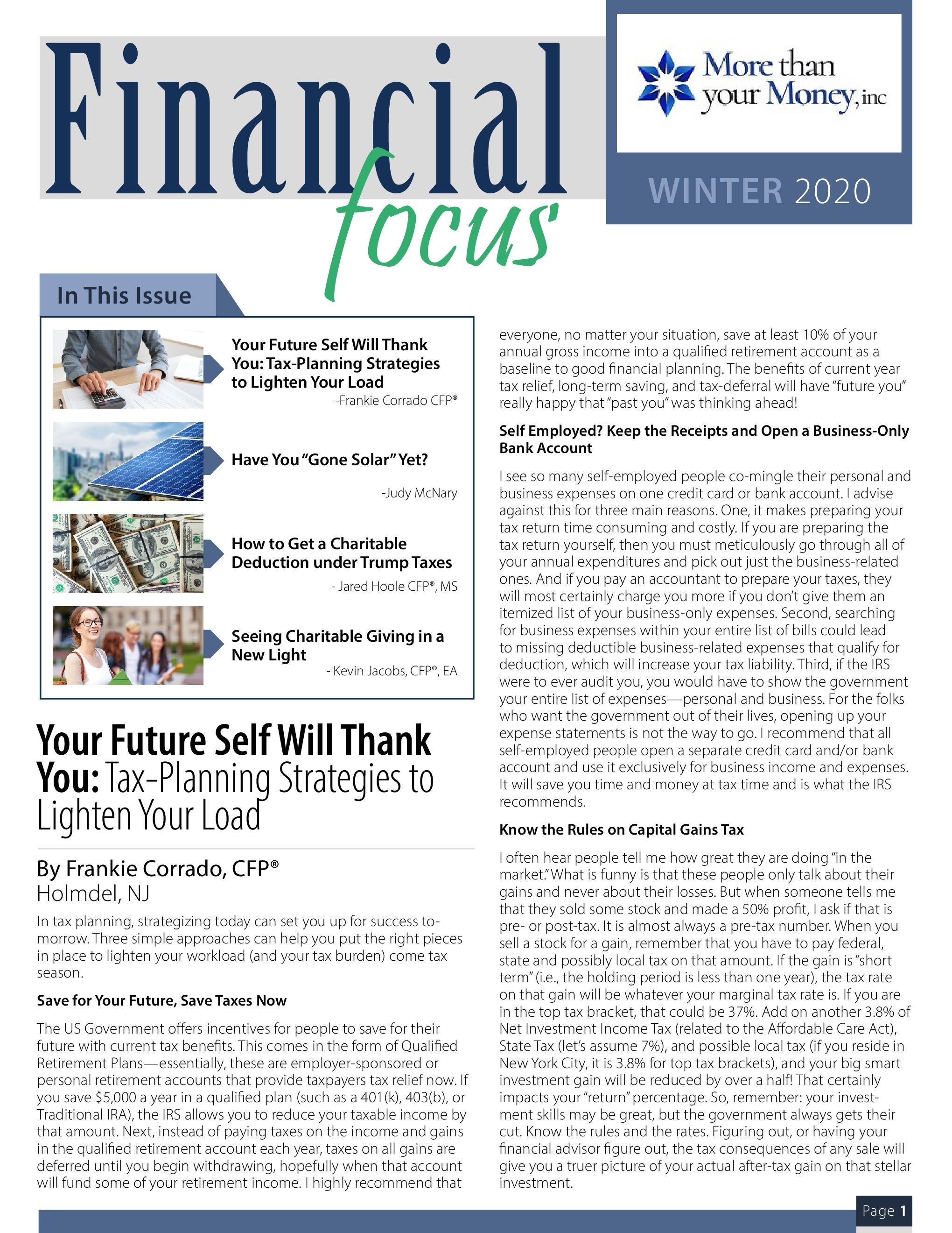 Financial Focus Winter 2020 Thumbnail