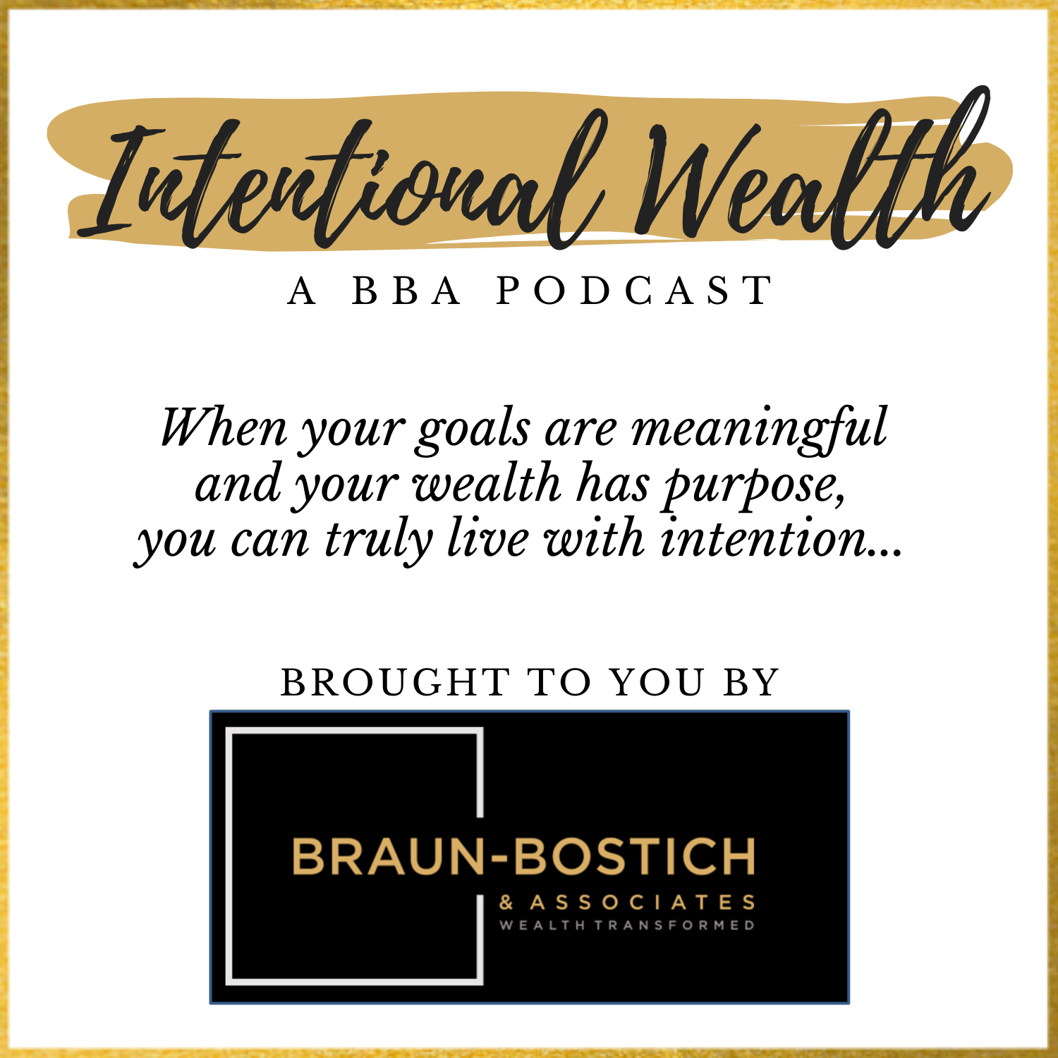 Intentional Wealth Podcast